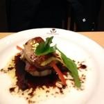 凜屋 - フォアグラと地鶏のステーキ