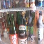 トケイソウ - 酒の管理も一流。いい店じゃあ!