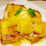 トラベルカフェ - フレンチトースト マンゴー(季節限定)