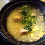 レストラン 朱鷺 - 牡蠣雑炊