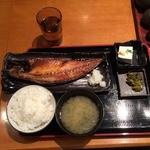 33189865 - サバチャン定食800円