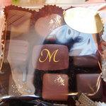 ショコラティエ・ミキ - ボンボンショコラ全種類