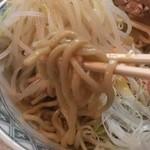 33192977 - ごりごりごつごつの太麺