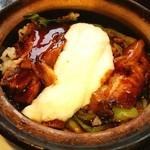 天一保 - 豚角煮山芋土鍋ごはん❤