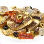 トラベルカフェ クッチーナ イタリアーナ - 白身魚のアクアパッツァ