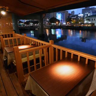 はまじま - こたつ式川床12席