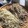 蕎麦さとやま - 料理写真:あいもり(並粉そばと田舎そばの合盛り)