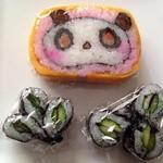 33199299 - 太巻き寿司♪たれパンダ♪