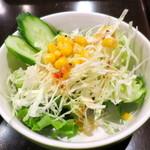 フォアローゼス - ランチのサラダ