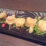 喜八楽八 - 料理写真:海老のマヨネーズ和え