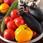 へんくつ屋 彦べえ - 新鮮なお野菜を使用しております。