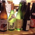 味寛 - ドンと出て来た地酒たち