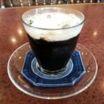 珈琲専門店 原点 - 今日も美味しいアイスコーヒーです(2014年10月)。