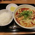 カレーうどん 千吉 - 辛吉カレーうどん800円