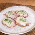 青葉 - 料理写真:長芋オランダベーコンチーズ焼き