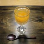 御料理 光安 - 卵黄の味噌漬け