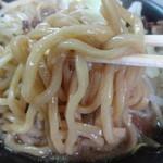 ラーメン ノア - ラーメン・詩郎に使われていた新しい麺!!