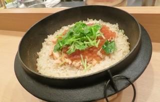 和食 髙 - ハラス飯が炊けました。