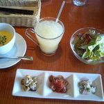 イル サリョウ - アンティパスト サラダ スープ