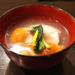 土家 - 蕎麦掻きのお椀 (2014/11)
