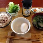 朝食屋コバカバ - 卵かけご飯セット