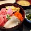 都寿司 - 料理写真:ランチメニューのミックス丼