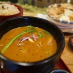奥芝商店 おくしばぁちゃん - 具材選ぶ天ぷらスープカレー
