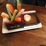 くろーんまざー - 野菜スティック