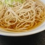 どんどん庵 砂田橋店 - 蕎麦、並、290円