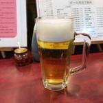 中華飯店一番 - ビール