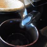 蕎音 - 適度なぬめりのあるそば湯が絶品