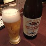 南あわじ美食農園オリザ - キリンビール瓶