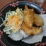 餃子の王将 - 鶏の唐揚げ(ジャストサイズ)