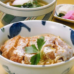 四國うどん -  カツ丼とうどんの組み合わせ  カツ丼セット
