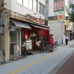 海 - 視点:通り沿い西向き(北東に阪神野田駅)
