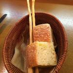トラットリア ラパーチェ - セットのパン
