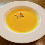トラットリア ラパーチェ - セットのスープ