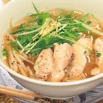 ニャーヴェトナム・フォー麺 - 蒸し鶏のあっさりフォー