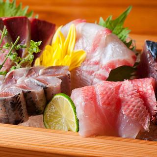 全国各地より直送!素材の味が旨い、産直鮮魚を心ゆくまでご堪能