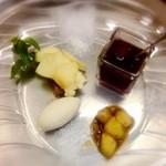 ル・ニ・ド・ファコン - 料理写真:夜デザート
