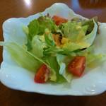 ズコット - パスタランチの本日のサラダ