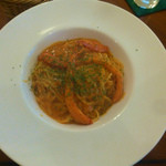 ズコット - パスタランチの本日のパスタ「蟹のトマトクリーム」