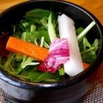 京都牛懐石 稲吉 - サラダ