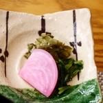 京都牛懐石 稲吉 - 京漬物