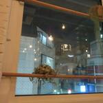 Cafe WALL - 窓があるけど店名はWALL。