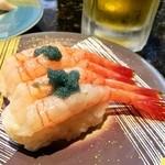 回転寿司 日本海 - 地物甘海老