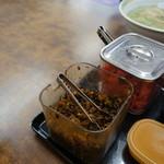 長浜ラーメン力 - 辛し高菜