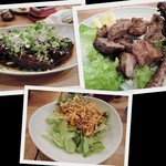 のもと家 - 2014/11 豚足柔らか煮 スペアリブ 耳の辛味噌サラダ