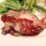 ノザンセートル ドゥ ドゥマン - ポーク風ロース肉のロティ(拡大)
