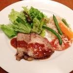 ノザンセートル ドゥ ドゥマン - ポーク風ロース肉のロティ